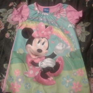 Girls Minnie mouse pajamas